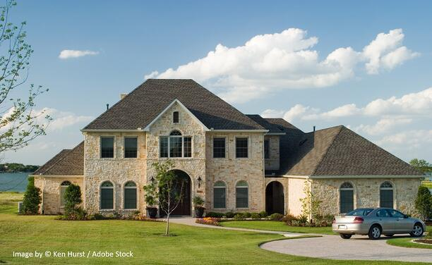 Dimensional shingles add value to a home for multiple reasons
