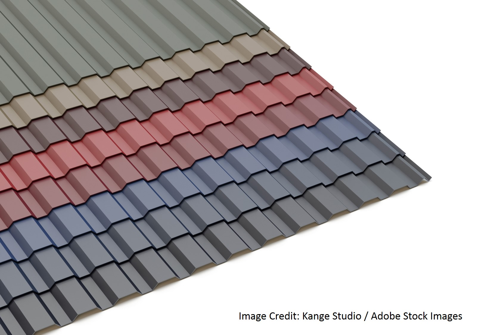 Metal Roofing In Bold Colors